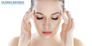 La cefalea oftalmica